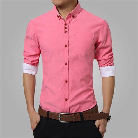 summer mens dress shirts cotton solid casual shirt