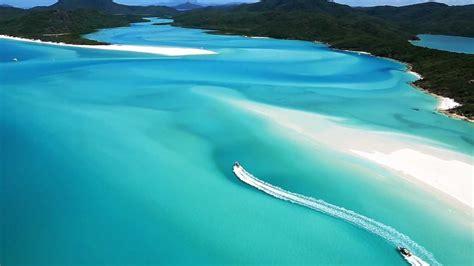Whitehaven Beach Whitsunday Islands Australia Youtube