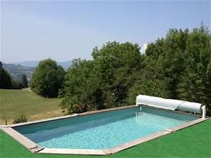 amenagement piscine bois semi enterree excellent piscine With charming liner piscine hors sol octogonale bois 13 piscine bois semi enterree 5x3