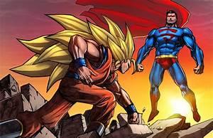 Goku SS3 Vs Superman by SiriusSteve on DeviantArt