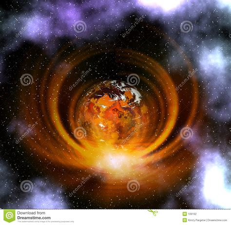 weird planet stock photography image
