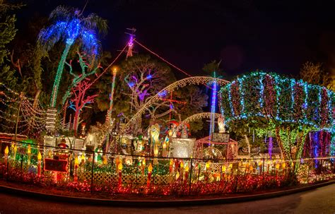 St Petersburg Christmas Lights Matthew Paulson Photography