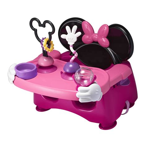 minnie mouse helping hands feeding activity seat from