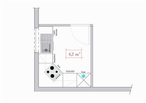 plan cuisine 6m2 cuisine amenagee 12m2