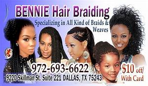 Oliab braiding business cards for African hair braiding business cards