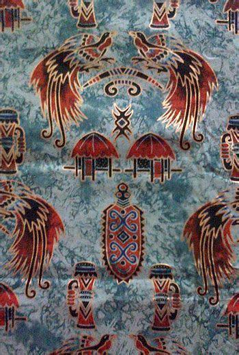 motif batik burung cendrawasih batik indonesia
