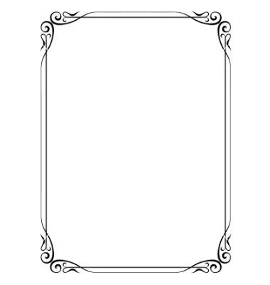 simple  border design images simple  borders