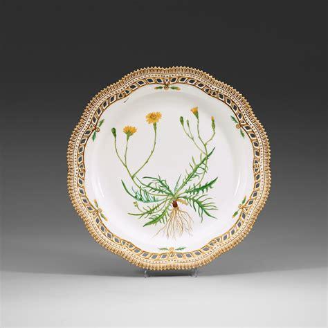 flora danica royal copenhagen denmark dishes three 20th century fauna auctions