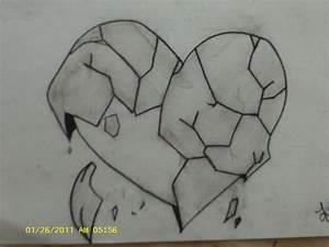 Easy Drawings On Love Easy Pencil Drawings Of Broken ...