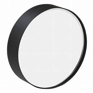 Miroir Rond Métal Noir : miroir rond en m tal noir sia ~ Teatrodelosmanantiales.com Idées de Décoration