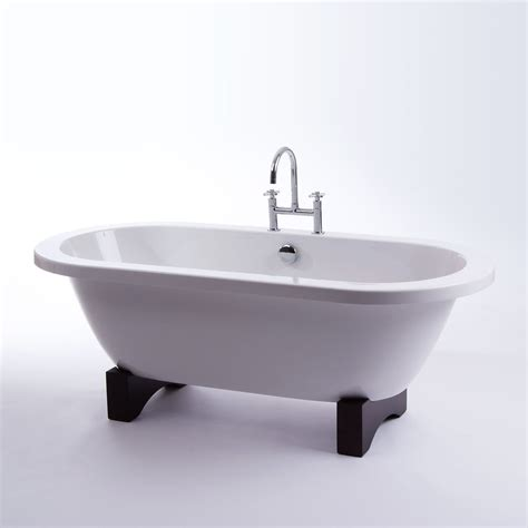 Freestanding Bath Roll Top Bath Bathroom Suite Double