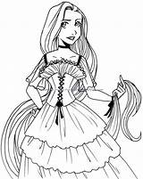 Coloring Princess Pages Disney Baby Clipartmag sketch template