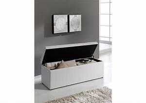 Coffre De Rangement Blanc : acheter votre coffre de rangement en pvc blanc chez simeuble ~ Nature-et-papiers.com Idées de Décoration