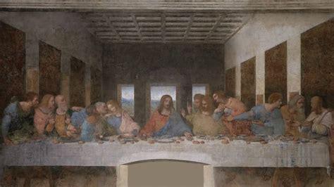 leonardonun son aksam yemegi   supper tablosu