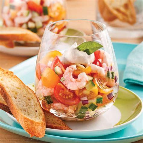 cuisine crevette tartare de tomates et crevettes en verrine recettes cuisine et nutrition pratico pratique