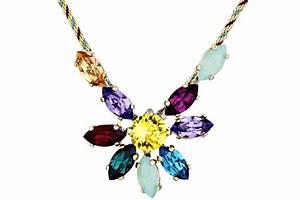 collier cristal swarovski fil soie hollywood satellite bijoux With bijoux en cristal