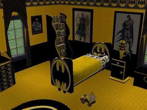 Mod The Sims-batman Child's Room (requested By Evil_tennyo