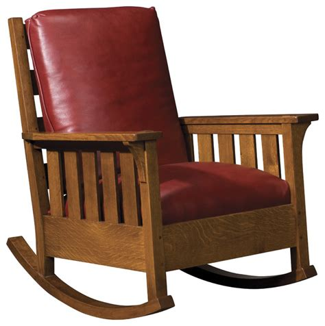 Stickley Upholstered Rocking Chair pdf diy stickley rocking chair plans the woods