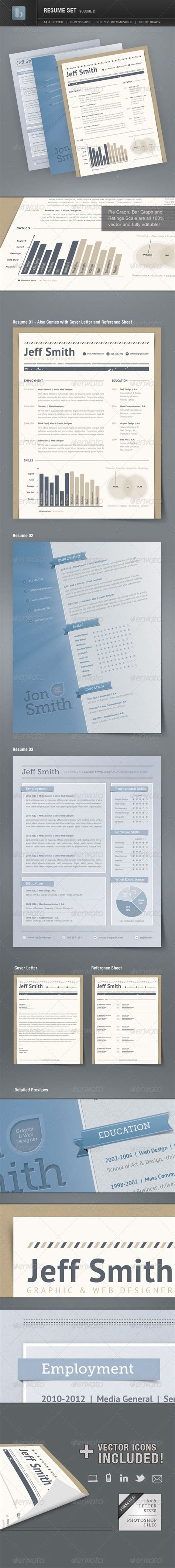 Graphicriver 2 Resume by 1000 Ideas About Standard Cv Format On Writing A Cv Create A Cv And Sle Of A Cv