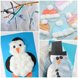 simple winter crafts for toddlers easy peasy and