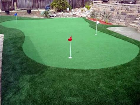 artificial putting green cost grass turf buckeye arizona landscaping backyard ideas