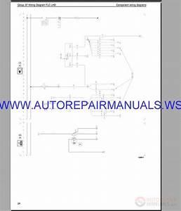 Volvo Flc Lhd Trucks Wiring Diagram Service Manual