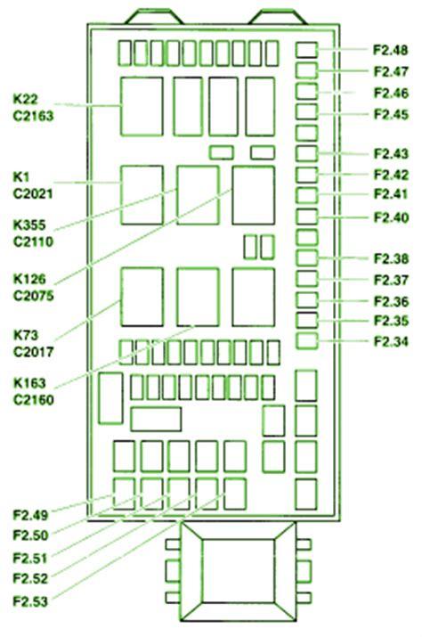 Ford Superduty Fuse Box Diagram Circuit Wiring