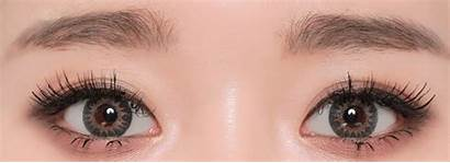 Tri Contacts Grey Geo Colored Eye Lens