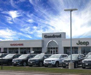 Dodge Dealer Green Bay gandrud dodge chrysler jeep new and used car dealership in