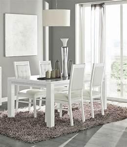 Esstisch Mit Stühlen Weiß : sch nes esstisch mit 4 st hlen in wei ~ Eleganceandgraceweddings.com Haus und Dekorationen