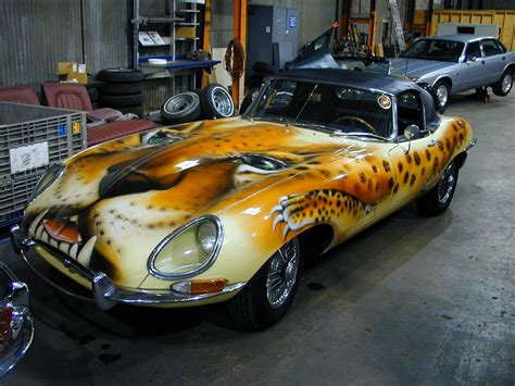 Cool Jaguar Paint Job Seen On