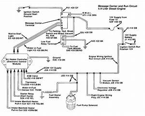 Schematic Diagram For Diesel Engine Protection