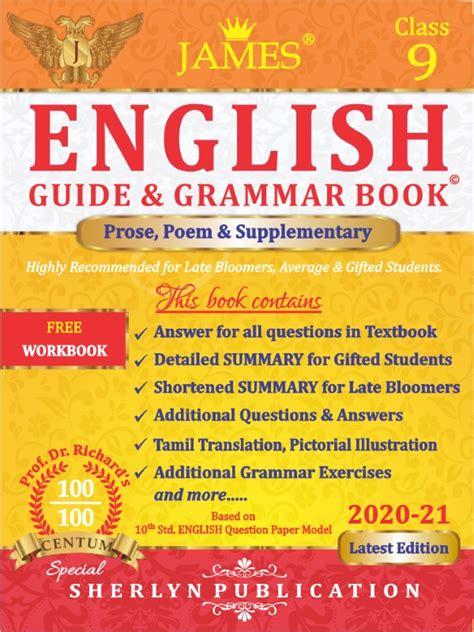9th English Guide & Grammar Book Paper I & II - James ...