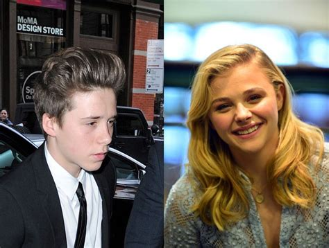 chloe moretz and kate harris david and victoria beckham freak out a little when chlo 235