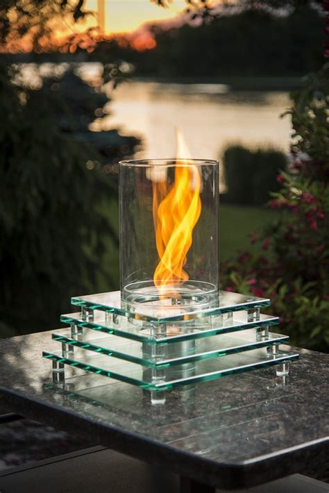 s mores pit tabletop pit for smores fireplace design ideas