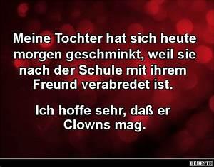Lustige Halloween Sprüche : clown witze und spr che ~ Frokenaadalensverden.com Haus und Dekorationen
