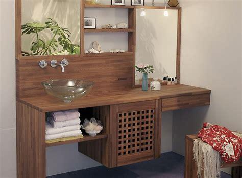 poster cuisine moderne plan de travail de salle de bain moderne fonce en bois