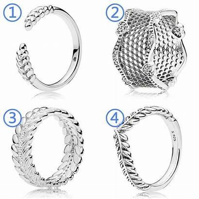 Ring Open Lace Grains Pandora Wheat Ear