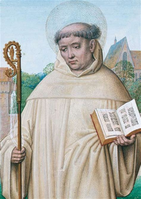 hl bernhard von clairvaux heilige kunst postkarten