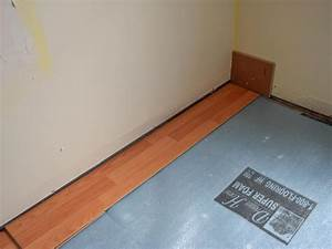 How to install a laminate floor how tos diy for How to lay a new floor