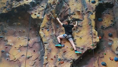 Try Indoor Rock Climbing Good For The Body Brain