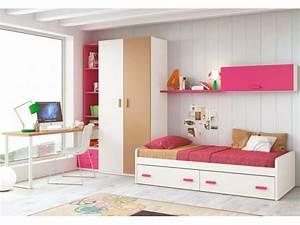 Lit Double Ado. chambre pour ado fille avec lit 4 coffres glicerio ...