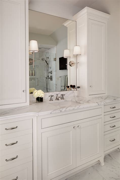 Bathroom Vanity Tower Ideas by Calacatta Marble Archives Bartelt Remodeling