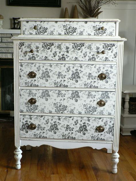 Decorating Ideas Dresser by Contact Paper Dresser Diy Decorating
