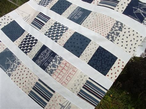 A Nautical Quilt For Oliver