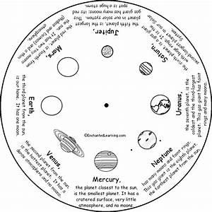 Solar System Worksheets Free | ... Word Wheel - Bottom ...