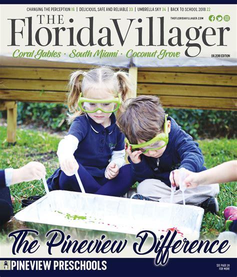 magazine the florida villager 512   TFV Cover 2018 08 CG SM