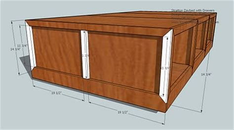 storage daybed woodworking plans woodshop plans