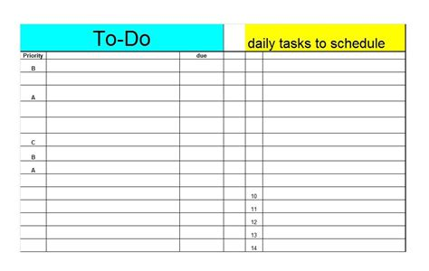 to do list checklist template 50 printable to do list checklist templates excel word
