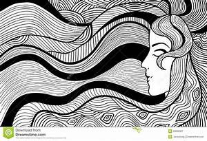 Black And White Abstract Drawings 8 Background ...